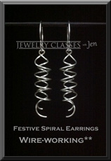Festive Spiral Earrings web button