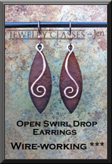 Open Swirl Drop Earrings web button