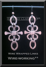 Wire Wrapped Links web button