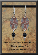 Riveted Link Earrings 2x3 72dpi wm WB