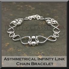 Pic of Asymmetrical Infinity Link Bracelet