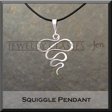 Squiggle Pendant pic