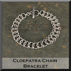 Photo of the Cleopatra Chain Bracelet
