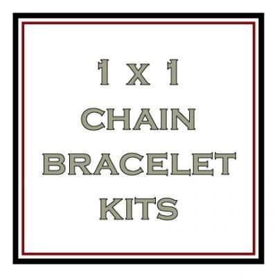 1 x 1 Chain Bracelet Kits
