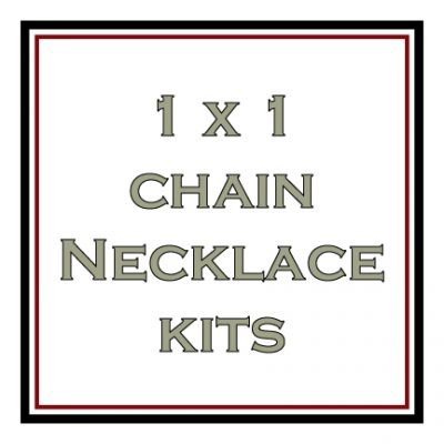 1 x 1 Chain Necklace Kits
