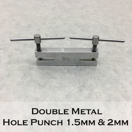 Double Metal Hole Punch