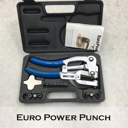 Image of Euro Power Punch large hole punch