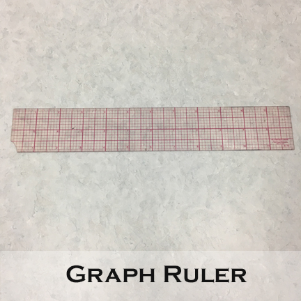 Image of a graph ruler