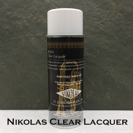 Image of Nikolas Clear Lacquer #2105