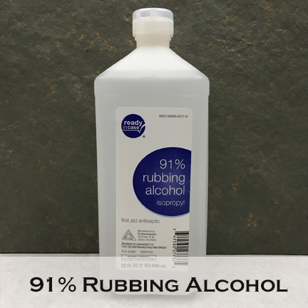 Image of rubbing alcohol